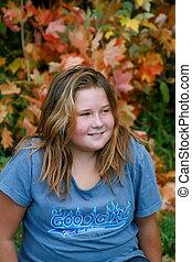adolescente niña