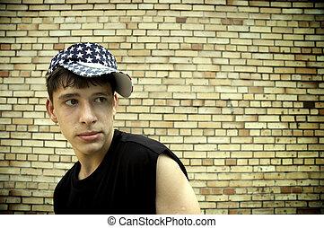 adolescente, norteamericano