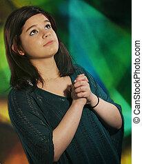 adolescente, oração