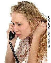 adolescente, téléphone