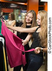 adolescentes, achat vêt