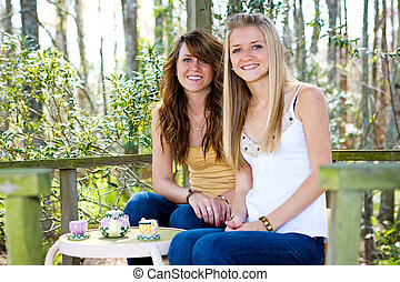 adolescentes, en, treehouse