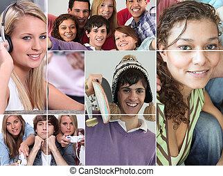 adolescents, temps libre