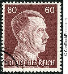 adolph, (1889-1945), 德国, hitler, -, 显示, 1941: