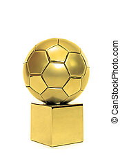 adományoz, futball, arany-