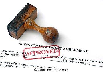 adopción, acuerdo