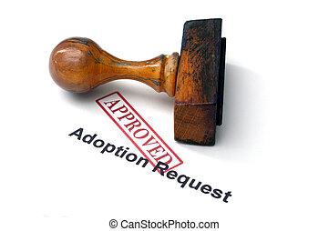 adopción, petición