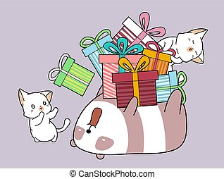 Adorable animals with a lot of gift