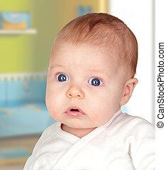 Adorable baby newborn