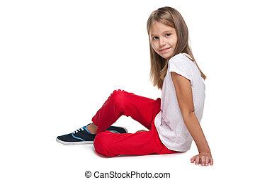 Adorable fashion little girl