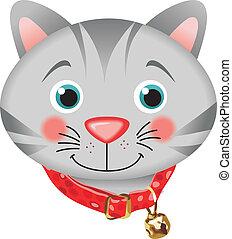 Adorable Kitten - Scalable vectorial image representing a...