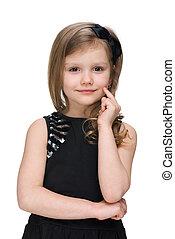 Adorable little girl