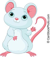 Adorable Mice - Illustration of cute mice