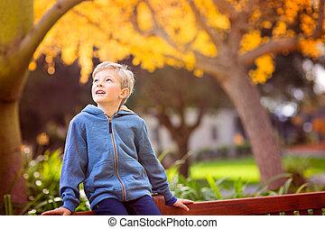 adorable smiling boy