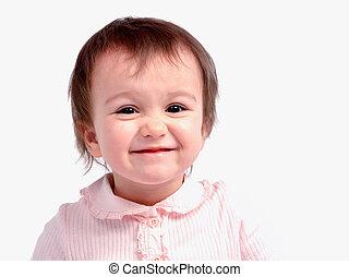 Adorable smiling girl