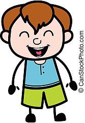 Adorable Teen Boy cartoon