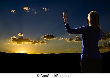 adoration, levers de soleil