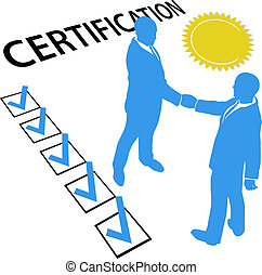 adquira, certificado, e, ganhar, oficial, certificação,...