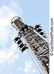 Adrenalin - A rollercoaster in a theme park