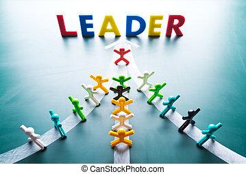 adresa, skupina, národ, pojem, ame, vůdcovství, cestovat, thes