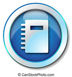 Adress book icon  - Icon for web, Adress book icon