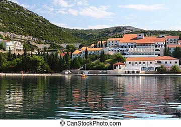 Adriatic coastline Croatia