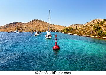 Adriatic Sea of Croatia