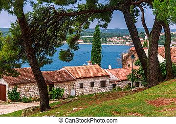 Adriatic sea view at Rovinj