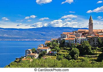 Adriatic Town of Vrbnik , Island of Krk - Adriatic Town of ...