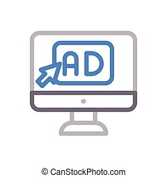 ads  color line icon