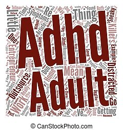 Adult ADHD Entrepreneurs Sneaky Little Killers text ...