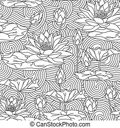 Adult antistress coloring page.