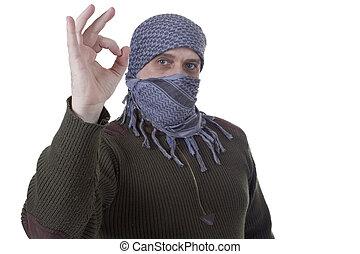 Adult Arab man