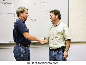 Adult Ed - Handshake