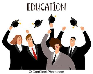 Adult education concept