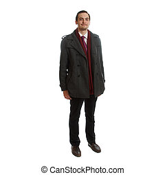 Adult in formal wear - An young adult in formal wear on...
