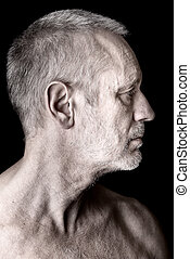 Adult Man Profile
