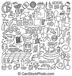 Adult Party Doodle Set