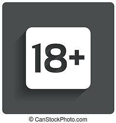 adultos, edad, button., stamp., contenido, solamente, límite