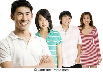 adultos jovens