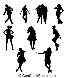 Adults Silhouettes
