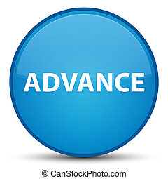 Advance special cyan blue round button