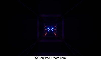 Advance Technology Portal Simulator 4k uhd 3d rendering vj ...