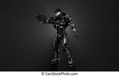 Advanced soldier - Advanced stealth super soldier