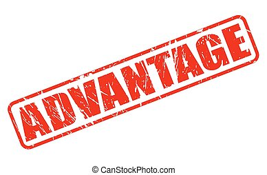 advantage stamp with word advantage inside vector illustration