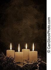 advent wreath for christmas - an advent wreath for christmas...