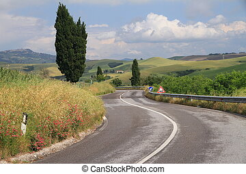 adventure in Tuscany