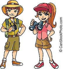 Adventure Kids Illustration