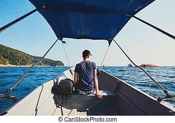 Adventure on the sea