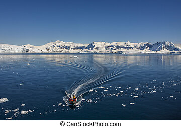 Adventure Tourists - Cuverville Bay - Antarctica